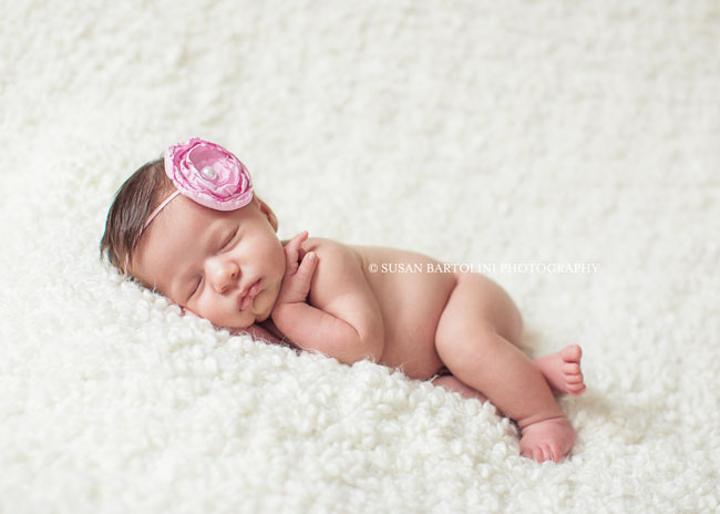Adorable baby girl boston baby photographer